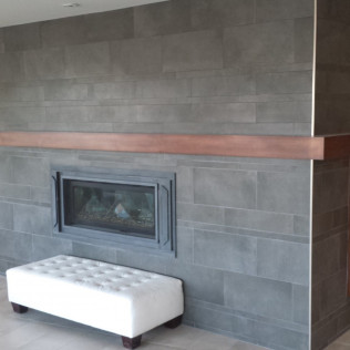 fire place and floor remodel in Gretna &Omaha, NE