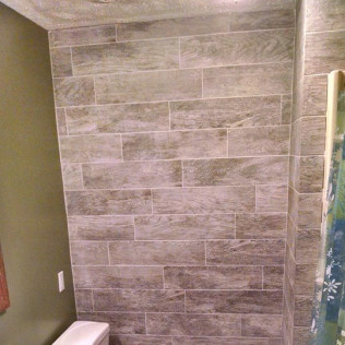 tile texture in shower  in  Gretna & Omaha, NE